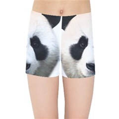Panda Face Kids Sports Shorts