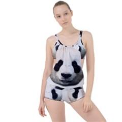 Panda Face Boyleg Tankini Set