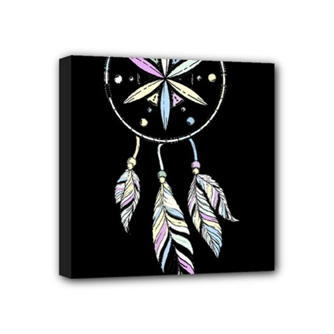 Dreamcatcher  Mini Canvas 4  X 4