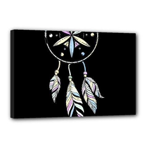 Dreamcatcher  Canvas 18  X 12