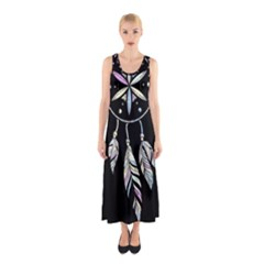 Dreamcatcher  Sleeveless Maxi Dress