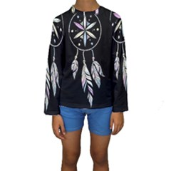 Dreamcatcher  Kids  Long Sleeve Swimwear