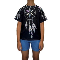 Dreamcatcher  Kids  Short Sleeve Swimwear