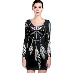 Dreamcatcher  Long Sleeve Bodycon Dress
