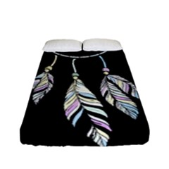 Dreamcatcher  Fitted Sheet (full/ Double Size)