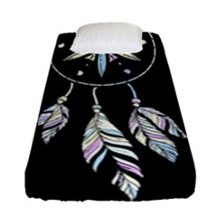 Dreamcatcher  Fitted Sheet (single Size)