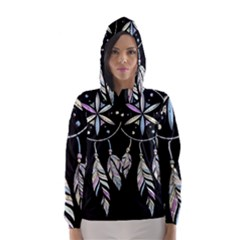 Dreamcatcher  Hooded Wind Breaker (women)