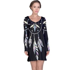 Dreamcatcher  Long Sleeve Nightdress