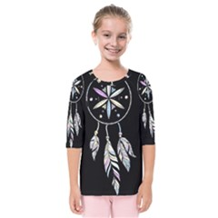 Dreamcatcher  Kids  Quarter Sleeve Raglan Tee