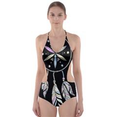 Dreamcatcher  Cut Out One Piece Swimsuit