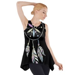 Dreamcatcher  Side Drop Tank Tunic