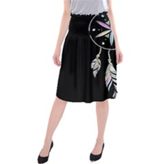Dreamcatcher  Midi Beach Skirt