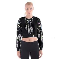 Dreamcatcher  Cropped Sweatshirt