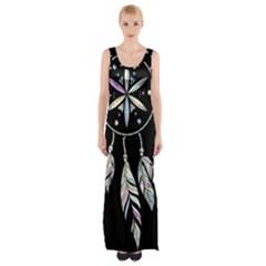 Dreamcatcher  Maxi Thigh Split Dress