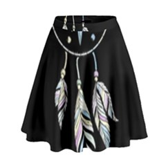 Dreamcatcher  High Waist Skirt