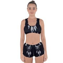 Dreamcatcher  Racerback Boyleg Bikini Set