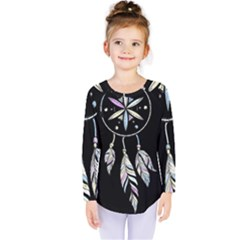 Dreamcatcher  Kids  Long Sleeve Tee