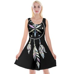 Dreamcatcher  Reversible Velvet Sleeveless Dress