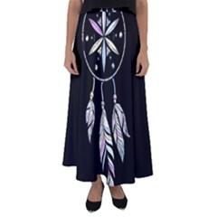 Dreamcatcher  Flared Maxi Skirt