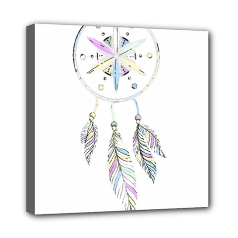 Dreamcatcher  Mini Canvas 8  X 8