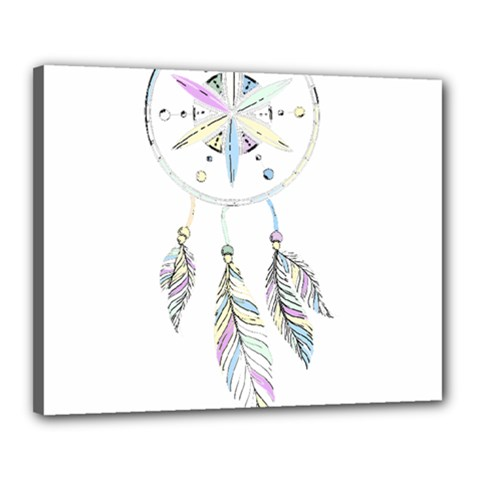 Dreamcatcher  Canvas 20  X 16