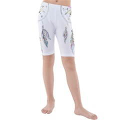 Dreamcatcher  Kids  Mid Length Swim Shorts