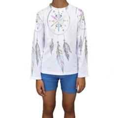Dreamcatcher  Kids  Long Sleeve Swimwear
