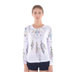 Dreamcatcher  Women s Long Sleeve Tee