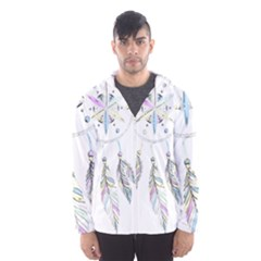Dreamcatcher  Hooded Wind Breaker (men)