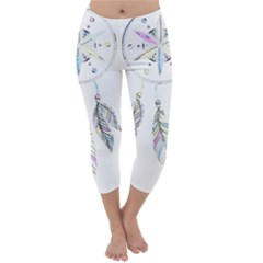 Dreamcatcher  Capri Winter Leggings