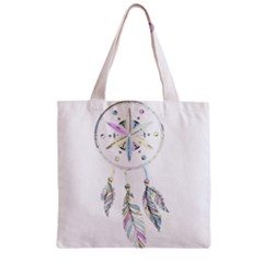 Dreamcatcher  Zipper Grocery Tote Bag