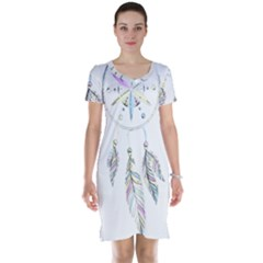 Dreamcatcher  Short Sleeve Nightdress