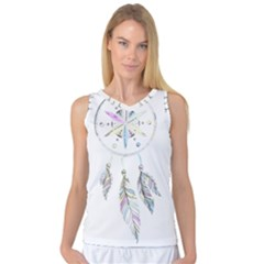 Dreamcatcher  Women s Basketball Tank Top