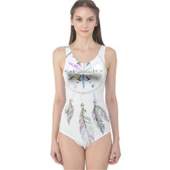 Dreamcatcher  One Piece Swimsuit