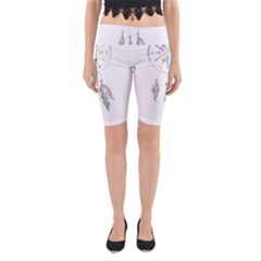 Dreamcatcher  Yoga Cropped Leggings
