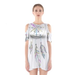 Dreamcatcher  Shoulder Cutout One Piece