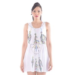 Dreamcatcher  Scoop Neck Skater Dress