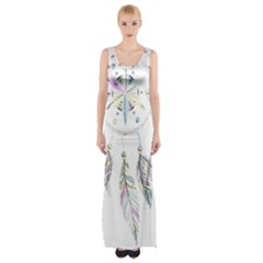 Dreamcatcher  Maxi Thigh Split Dress
