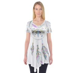 Dreamcatcher  Short Sleeve Tunic