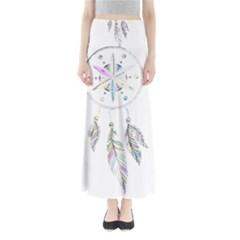 Dreamcatcher  Full Length Maxi Skirt