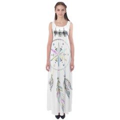 Dreamcatcher  Empire Waist Maxi Dress