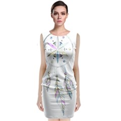 Dreamcatcher  Classic Sleeveless Midi Dress