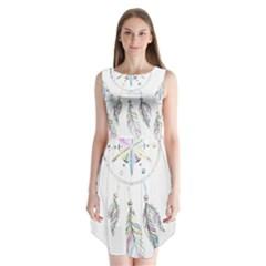 Dreamcatcher  Sleeveless Chiffon Dress