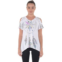 Dreamcatcher  Cut Out Side Drop Tee