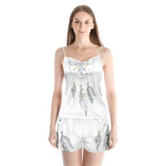 Dreamcatcher  Satin Pajamas Set