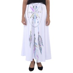 Dreamcatcher  Flared Maxi Skirt
