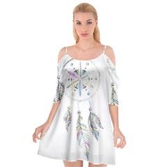 Dreamcatcher  Cutout Spaghetti Strap Chiffon Dress