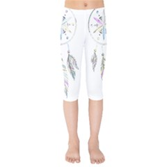 Dreamcatcher  Kids  Capri Leggings