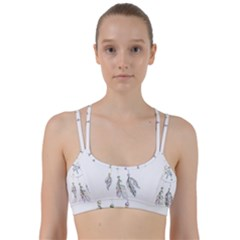 Dreamcatcher  Line Them Up Sports Bra