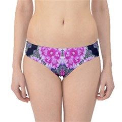 Fantasy Cherry Flower Mandala Pop Art Hipster Bikini Bottoms